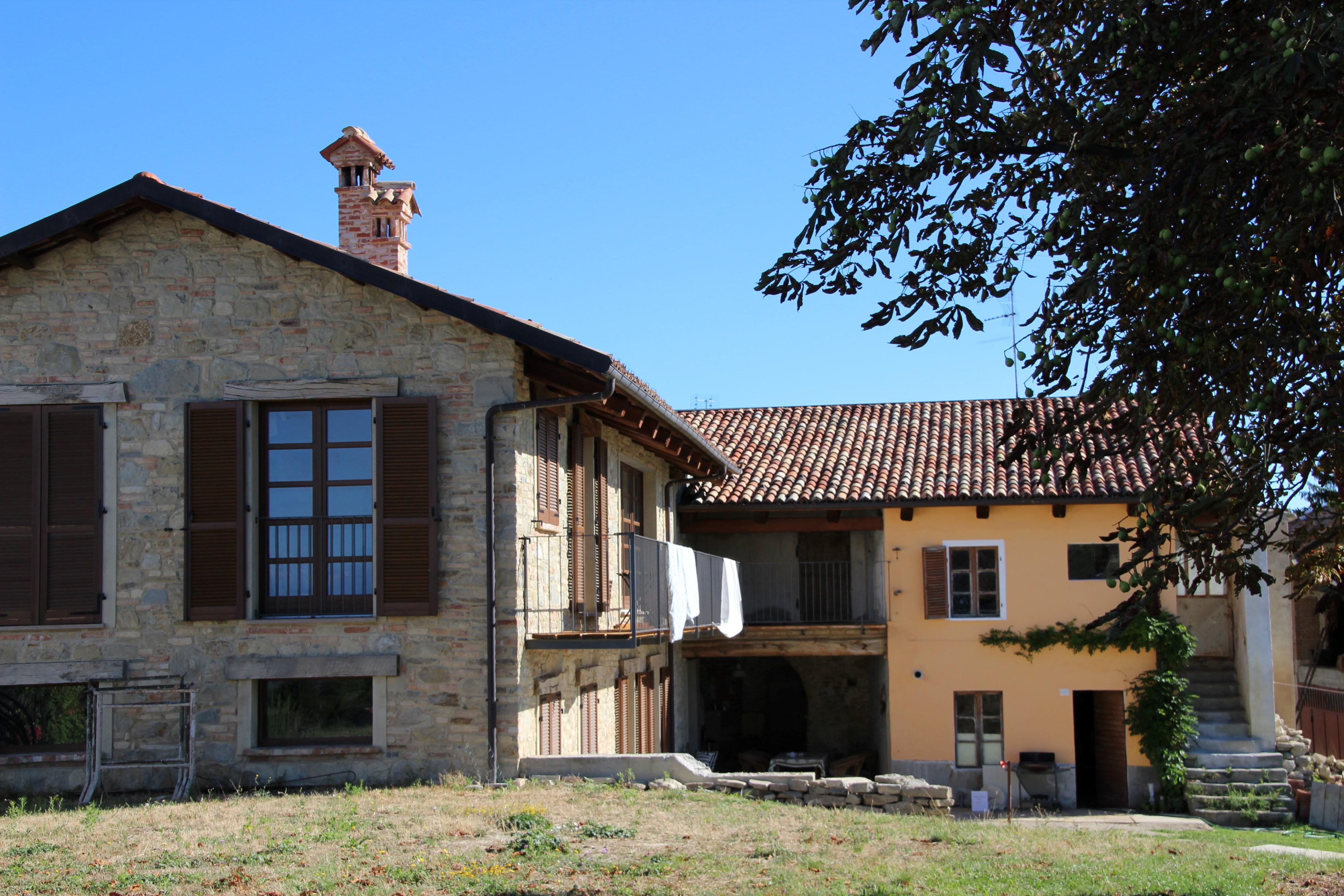 Husene set fra pynten