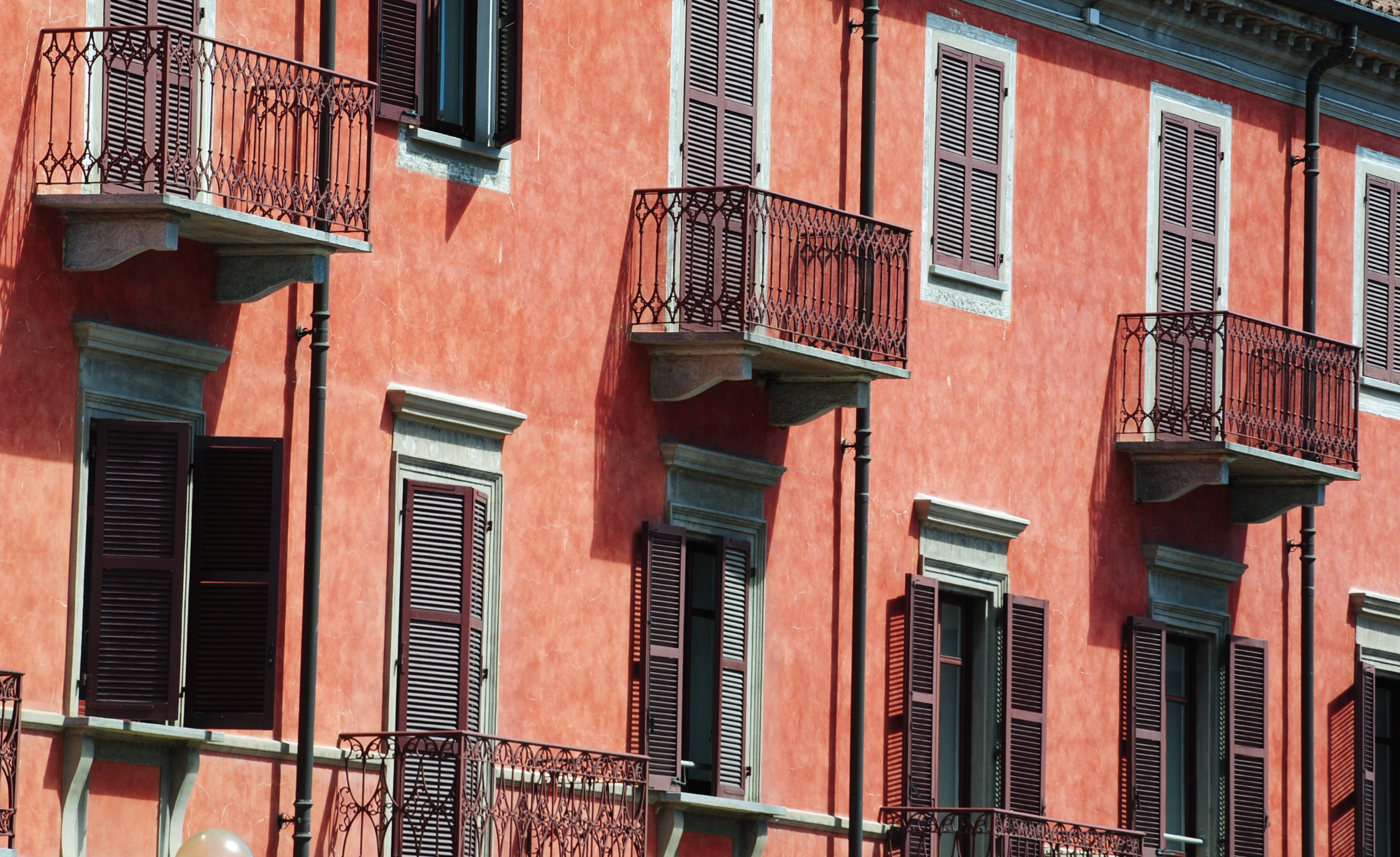 Rød facade