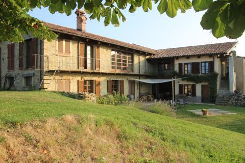 Huset set fra kastanjetræet