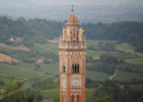 Kirketårn i Monforte