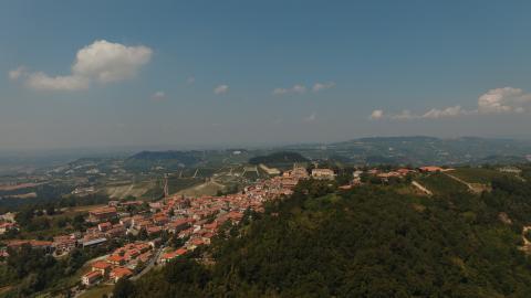 Sky view of Monforte